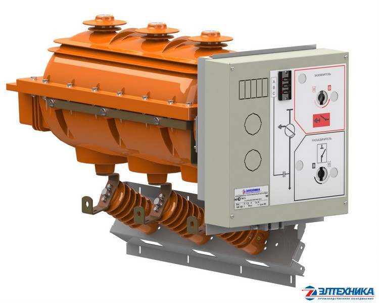 SL - three-position SF6-insulated MV switching devices 10,20 kV